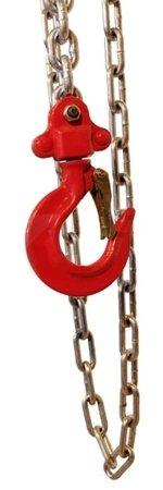 Wciągnik łańcuchowy ręczny (udźwig: 2,0 T, długość łańcucha: 3m) 03076076