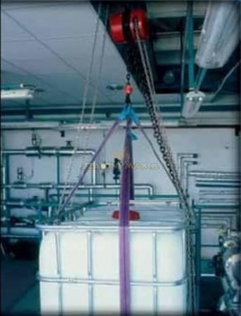 Wciągnik łańcuchowy z przekładnią planetarną (wysokość podnoszenia: 5m, udźwig: 5 T) 22077000