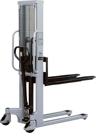 Wózek podnośnikowy ręczny (maszt podwójny, udźwig: 1000 kg) 310504