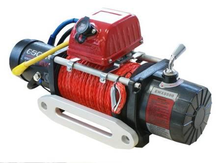 Wyciągarka Escape EVO 9500 lbs [4309 kg] EWX-QF z liną syntetyczną 12V (lina: 10 mm czerwona dyneema 28m 10400kg +hak) 81877758