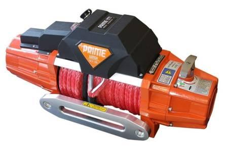 Wyciągarka Prime 13.0XE 13000lbs [5897kg] z liną syntetyczną 12V (lina: 10 mm w oplocie 28 m 10400 kg +duży hak, kolor wyciągarki: czarny) 81877869