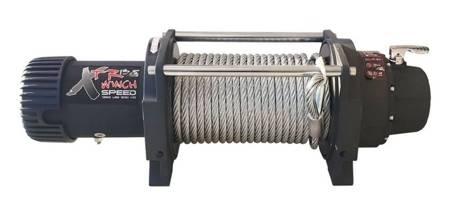Wyciągarka XTR 13500lbs [6130kg] SPEED 12V (lina stalowa: 9,5mm 28m) 81877719