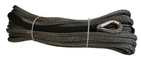 Wyciągarka XTR 13500lbs [6130kg] z liną syntetyczną 12V (lina: 10 mm czerwona dyneema 28m 10400kg +hak) 81877815