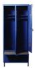DOSTAWA GRATIS! 77170691 Szafa odzieżowa z chowaną ławeczką, 2 drzwi (wymiary: 1800x600x480 mm)